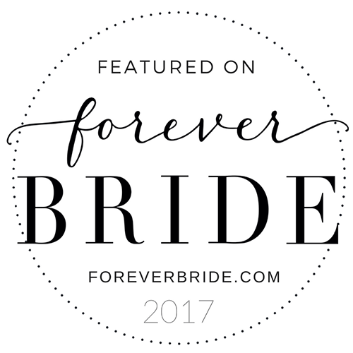 Featured on Forever Bride 2017